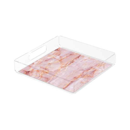 beautiful,pink,marble,girly,nature,stone,elegant,g acrylic tray