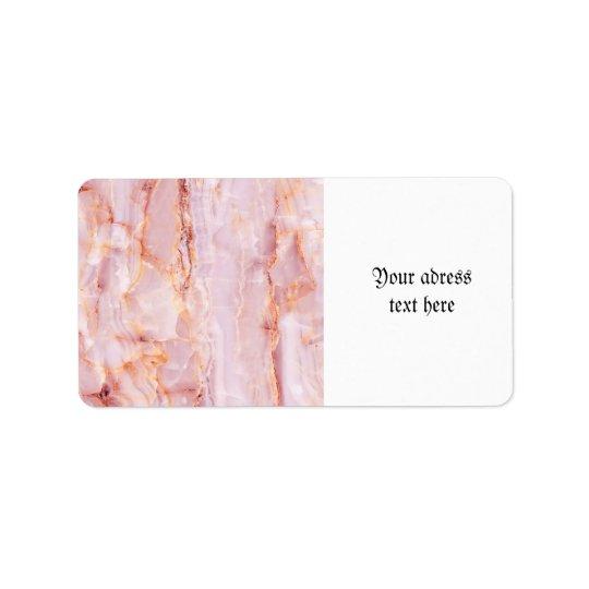 beautiful,pink,marble,girly,nature,stone,elegant,g address label