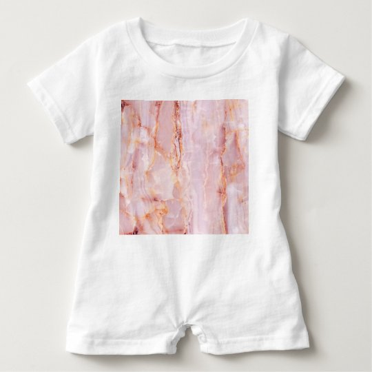 beautiful,pink,marble,girly,nature,stone,elegant,g baby bodysuit