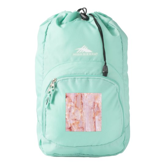 beautiful,pink,marble,girly,nature,stone,elegant,g backpack