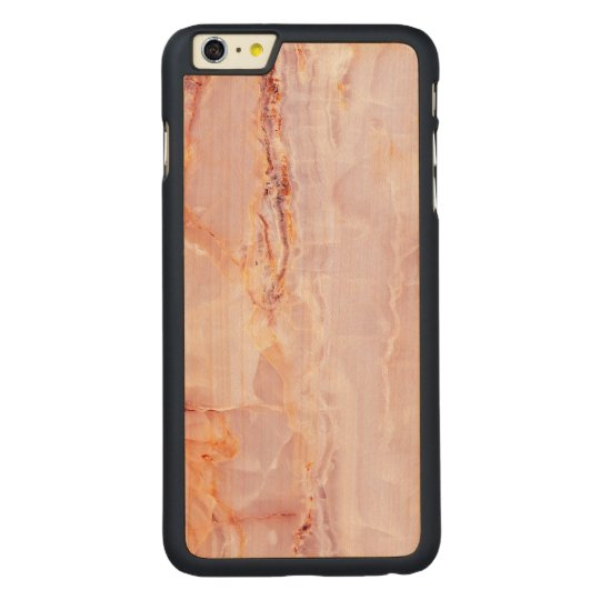 beautiful,pink,marble,girly,nature,stone,elegant,g carved maple iPhone 6 plus case