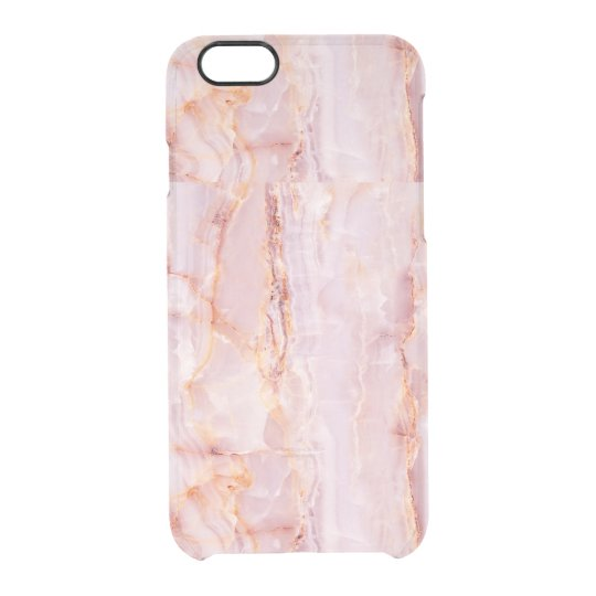 beautiful,pink,marble,girly,nature,stone,elegant,g clear iPhone 6/6S case