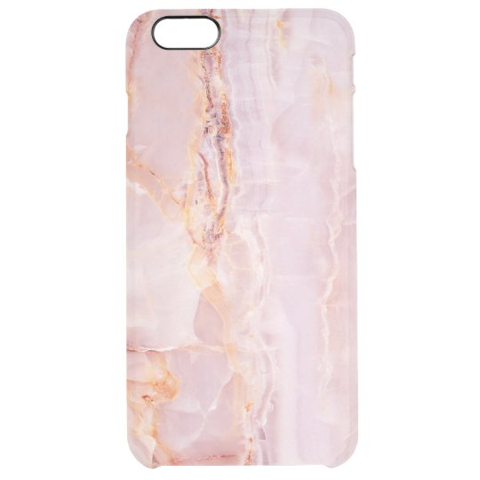 beautiful,pink,marble,girly,nature,stone,elegant,g clear iPhone 6 plus case