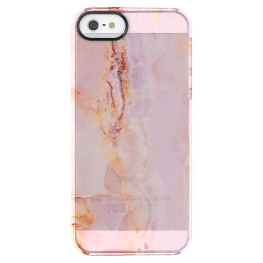 beautiful,pink,marble,girly,nature,stone,elegant,g clear iPhone SE/5/5s case