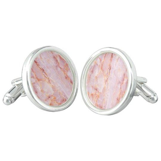 beautiful,pink,marble,girly,nature,stone,elegant,g cufflinks