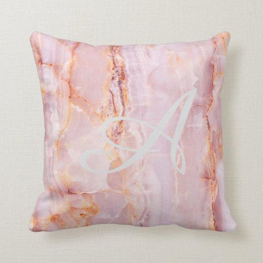 beautiful,pink,marble,girly,nature,stone,elegant,g cushion