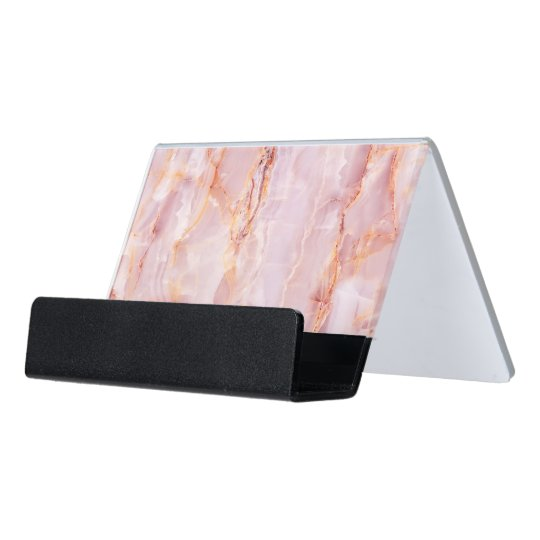 beautiful,pink,marble,girly,nature,stone,elegant,g desk business card holder