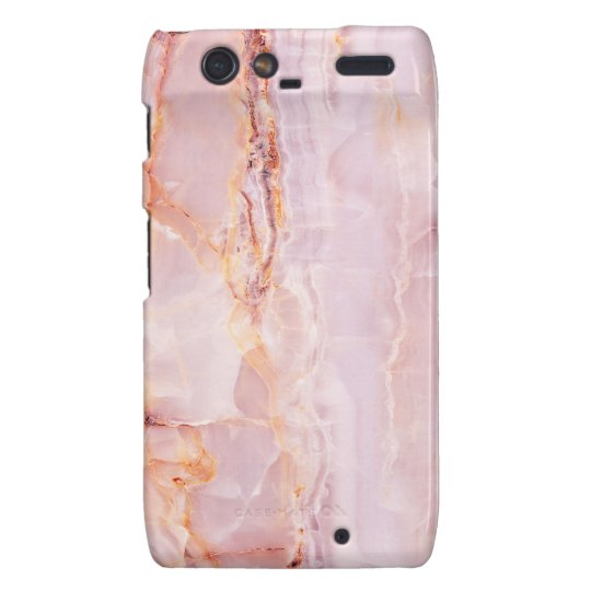 beautiful,pink,marble,girly,nature,stone,elegant,g droid RAZR cover