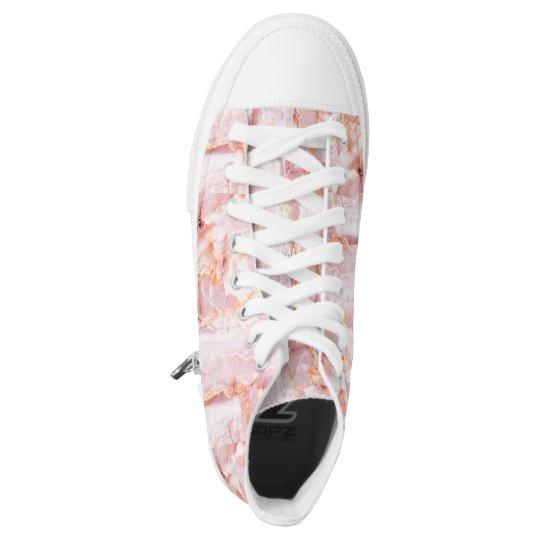 beautiful,pink,marble,girly,nature,stone,elegant,g high tops