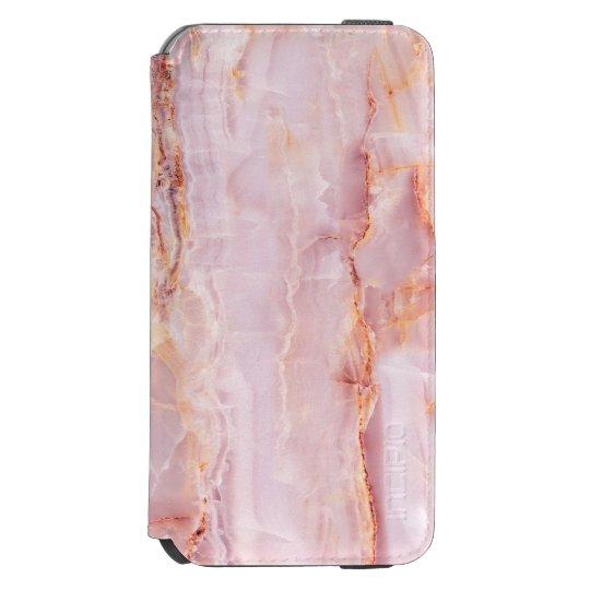 beautiful,pink,marble,girly,nature,stone,elegant,g incipio watson™ iPhone 6 wallet case