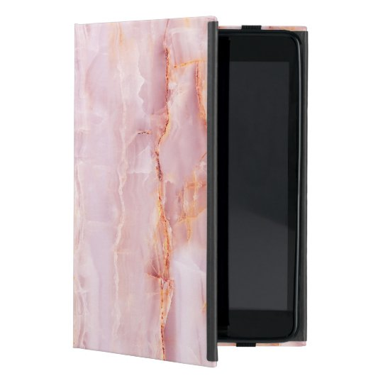 beautiful,pink,marble,girly,nature,stone,elegant,g iPad mini case