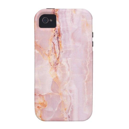 beautiful,pink,marble,girly,nature,stone,elegant,g iPhone 4 case