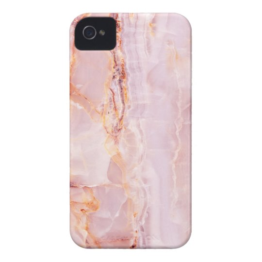 beautiful,pink,marble,girly,nature,stone,elegant,g iPhone 4 cover