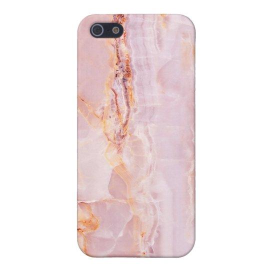 beautiful,pink,marble,girly,nature,stone,elegant,g iPhone 5/5S case