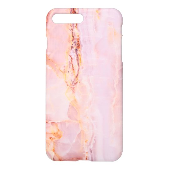 beautiful,pink,marble,girly,nature,stone,elegant,g iPhone 8 plus/7 plus case