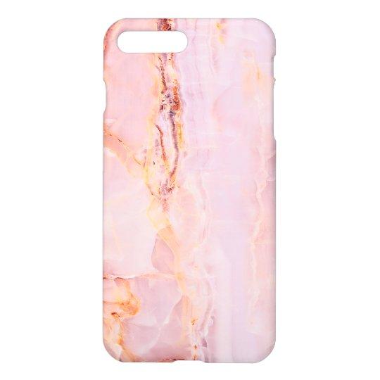 beautiful,pink,marble,girly,nature,stone,elegant,g iPhone 8 plus/7 plus case