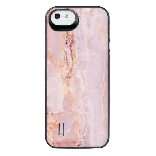 beautiful,pink,marble,girly,nature,stone,elegant,g iPhone SE/5/5s battery case