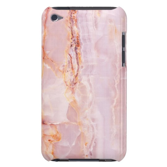 beautiful,pink,marble,girly,nature,stone,elegant,g iPod touch case