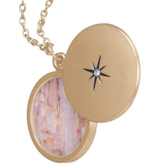 beautiful,pink,marble,girly,nature,stone,elegant,g locket necklace