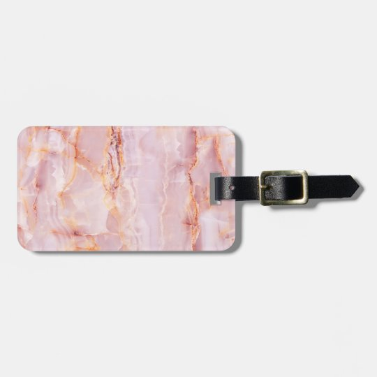 beautiful,pink,marble,girly,nature,stone,elegant,g luggage tag