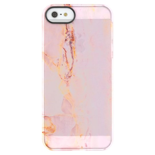 beautiful,pink,marble,girly,nature,stone,elegant,g permafrost® iPhone SE/5/5s case