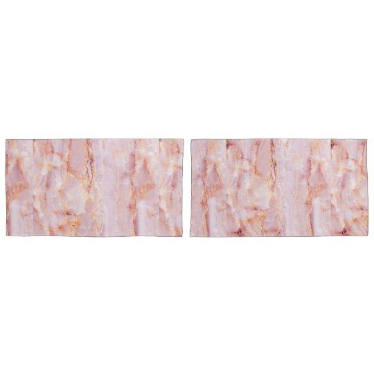 beautiful,pink,marble,girly,nature,stone,elegant,g pillowcase