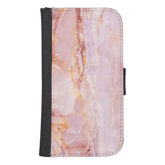 beautiful,pink,marble,girly,nature,stone,elegant,g samsung s4 wallet case