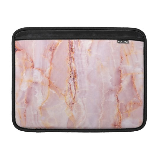 beautiful,pink,marble,girly,nature,stone,elegant,g sleeve for MacBook air