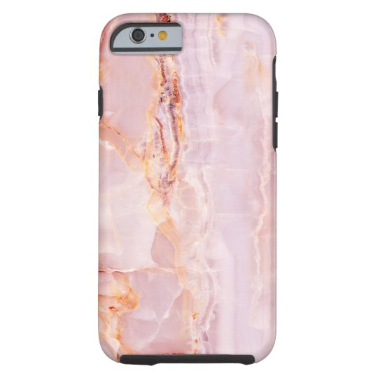 beautiful,pink,marble,girly,nature,stone,elegant,g tough iPhone 6 case