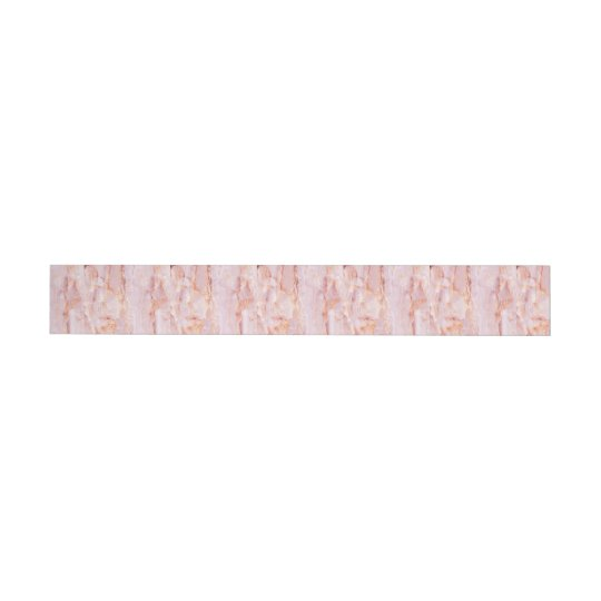 beautiful,pink,marble,girly,nature,stone,elegant,g wraparound address label
