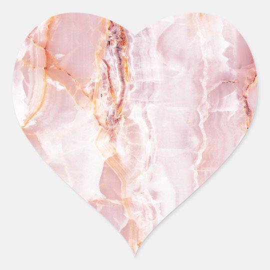 beautiful,pink,marble,girly,nature,stone,elegant, heart sticker