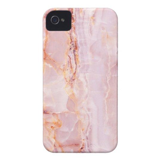 beautiful,pink,marble,girly,nature,stone,elegant, iPhone 4 case