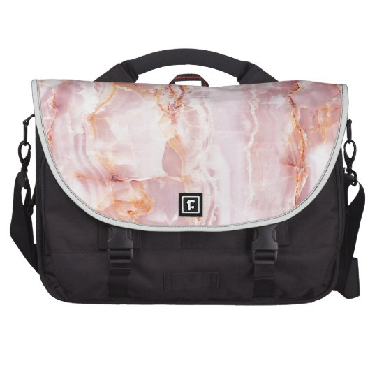 beautiful,pink,marble,girly,nature,stone,elegant, laptop shoulder bag