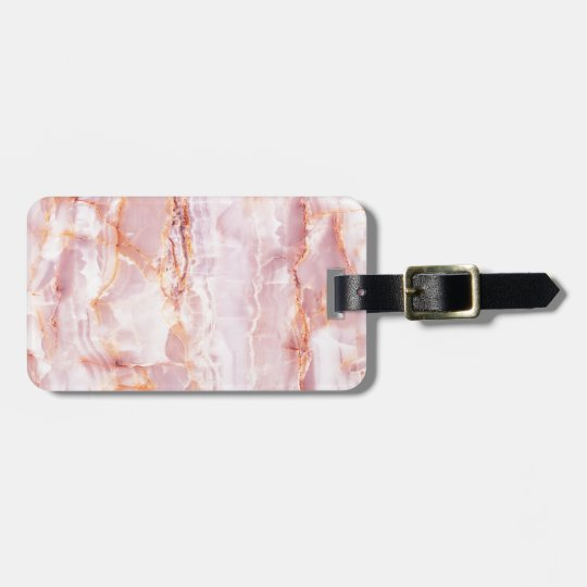 beautiful,pink,marble,girly,nature,stone,elegant, luggage tag