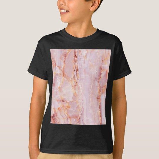 beautiful,pink,marble,girly,nature,stone,elegant, T-Shirt