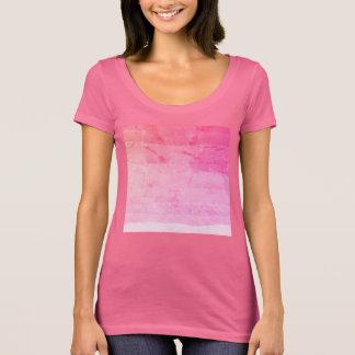 Beautiful pink ombre batik marbled apparel T-Shirt