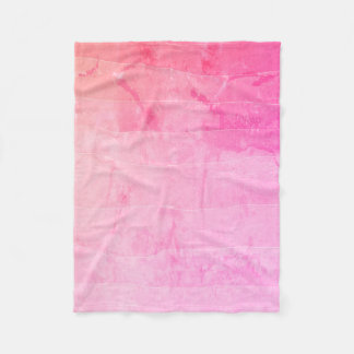 Beautiful pink ombre batik marbled blanket