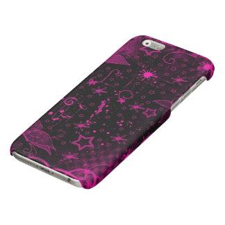 beautiful pink purple flowers stars art