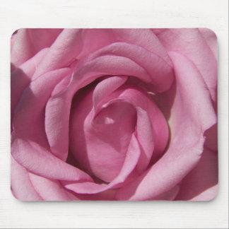 Beautiful Pink Rose Mouse Pad