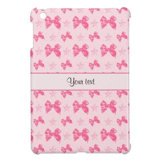 Beautiful Pink Satin Bows iPad Mini Cover