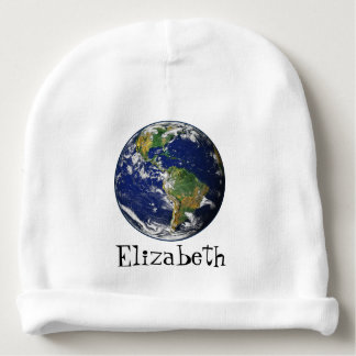 Beautiful Planet Earth Baby Beanie