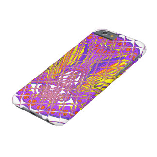 Beautiful Plum Amazing Colorful Pattern Design. Barely There iPhone 6 Case