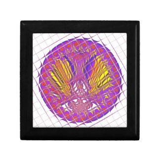 Beautiful Plum Amazing Colorful Pattern Design. Gift Box