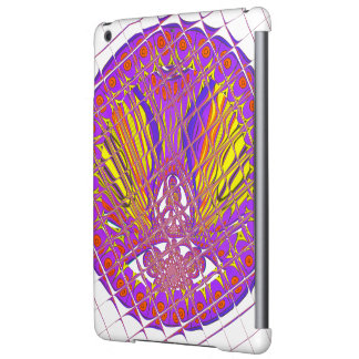 Beautiful Plum Amazing Colorful Pattern Design. iPad Air Cover