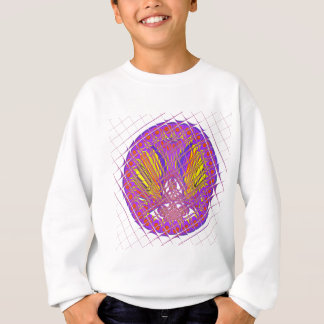 Beautiful Plum Amazing Colorful Pattern Design. Sweatshirt