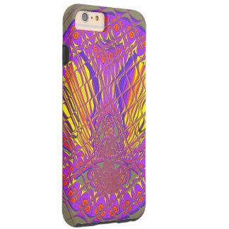 Beautiful Plum Amazing Colorful Pattern Design. Tough iPhone 6 Plus Case