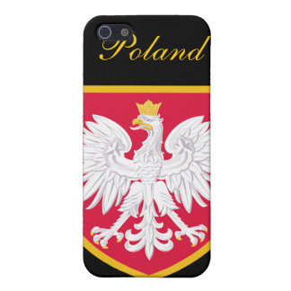 Beautiful Poland Flag iPhone 5/5S Case