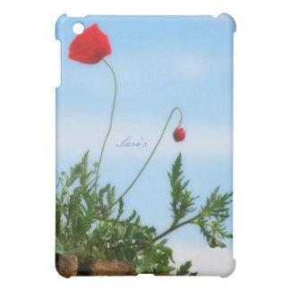 Beautiful Poppy iPad Mini Cases
