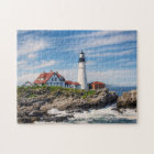 Beautiful Portland Head Light Jigsaw Puzzle