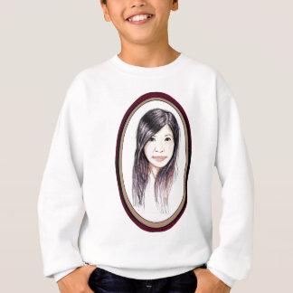 Beautiful Portrait of an Asian Woman Sweatshirt